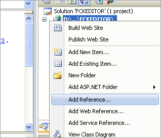 integrating fckeditor